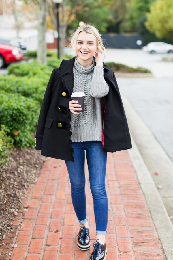 best derby shoes outfit ideas for women