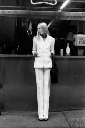 Edie Baskin in Yves Saint Laurent