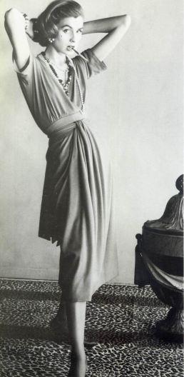 1954 suzy parker - chanel