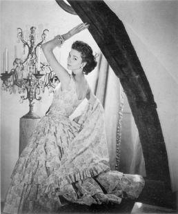 1954 suzy parker - griffe