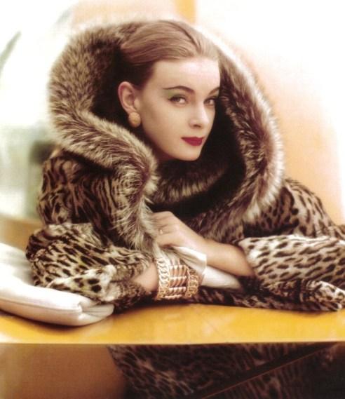 Photo by Norman Parkinson, British Vogue 1958