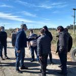 Adelanto: arribó a Las Flores el ministro de Desarrollo Agrario bonaerense