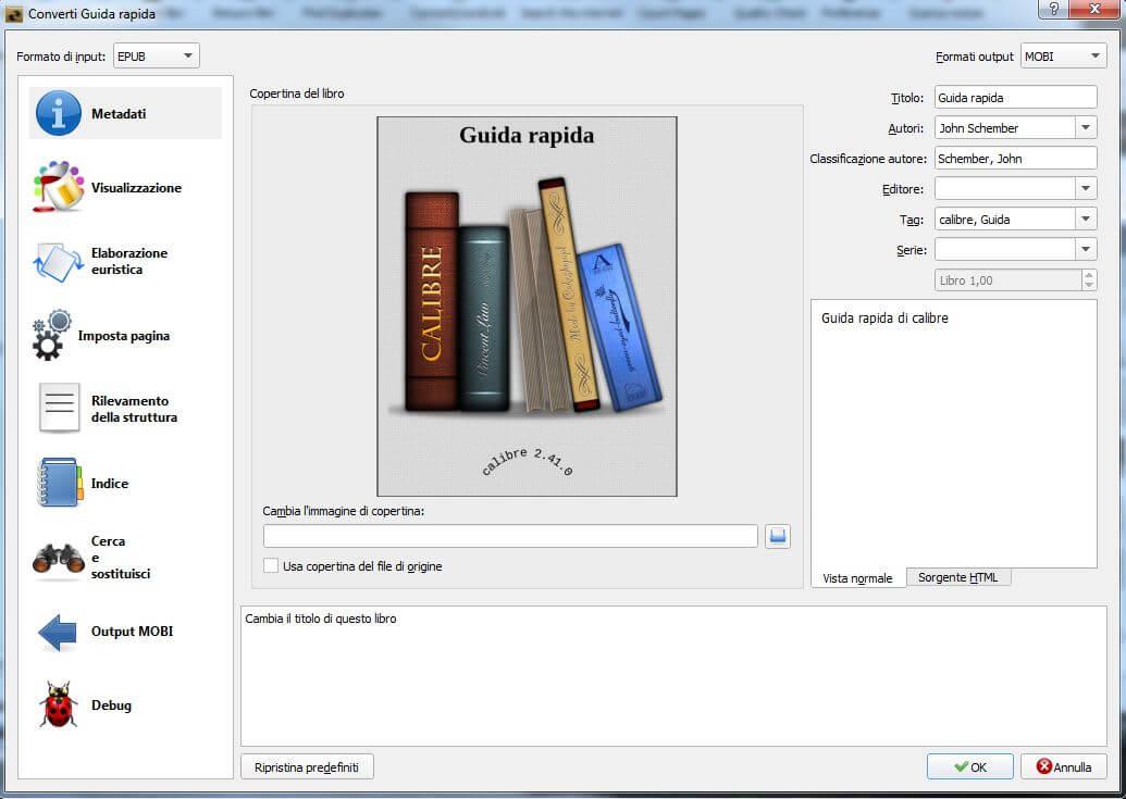 convert pdf to ebook calibre