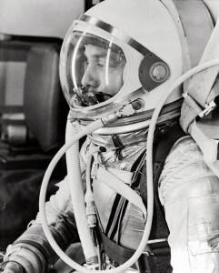 Alan Shepard on Freedom 7 - May, 5 1961