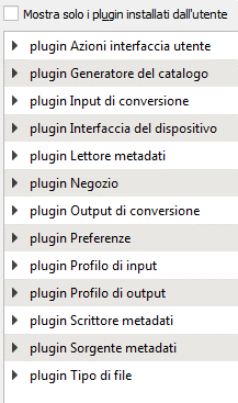 lista plugin base