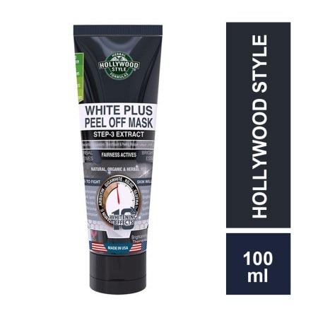 Hollywood Style White Plus Peel-off-Mask 100ML: Step-3 Extract