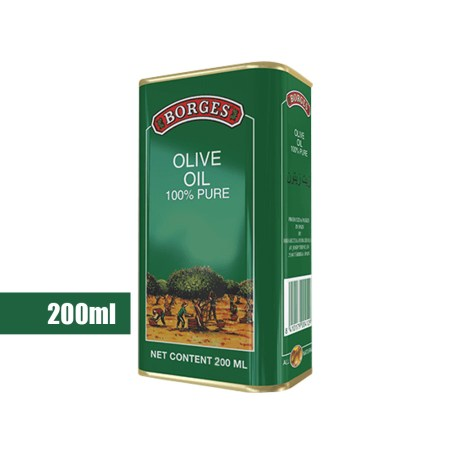 Borges Olive Oil 200ml 100% Pure