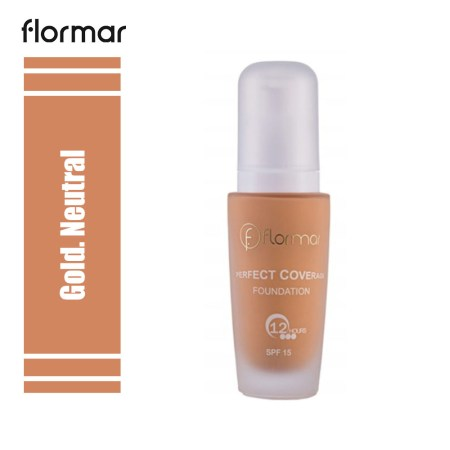 Flormar Perfect Coverage Foundation Gold. Neutral