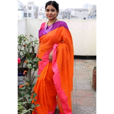 Chumki cotton saree-13