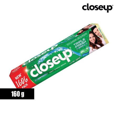 Closeup Menthol Fresh Toothpaste 160g