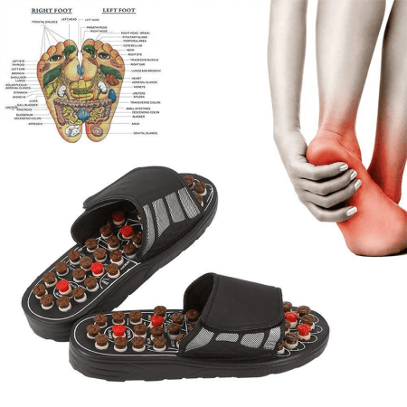 Acupressure Foot Massage Slippers Health Shoe Massages (DB211.1)