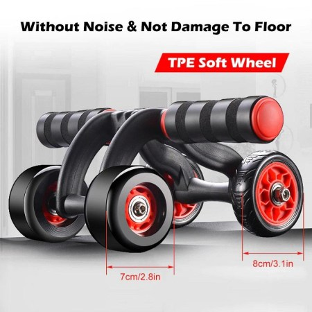 Fitness Abdominal Wheel AB Roller With Mat (DB388)