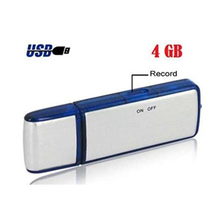PY Voice Digital Audio Voice Recorder USB Flash Drive Long Battery Life 4GB