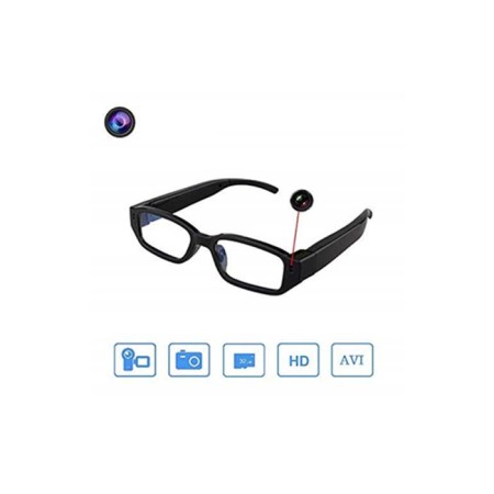 Spy Camera Glasses, HD Video Audio Recording Spectacles