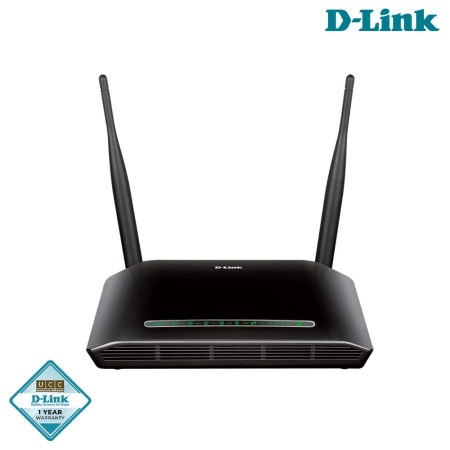 D-Link Wireless N 300 ADSL2+ Modem Router (DSL-2750U)
