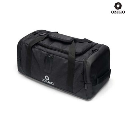 OZUKO Travel Gym Bag With Shoe Compartment (OB-08)