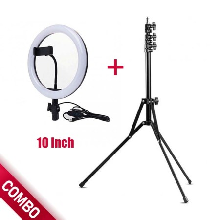 LED Ring Light 10 Inch With Tripod Stand Combo