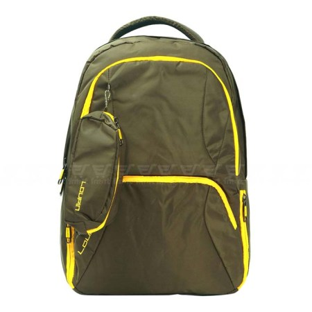 Loupin Laptop Office Backpack -Mustard Color (BHT-04)