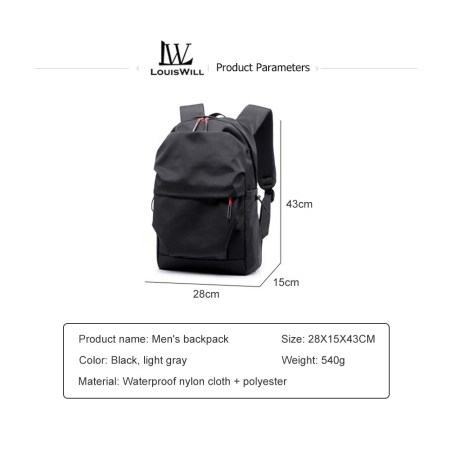 LouisWill Laptop Backpack (BHT-36)