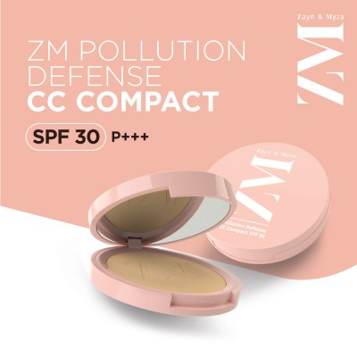 Zayn & Myza Pollution Defense CC With SPF 30 Compact -Classic Ivory