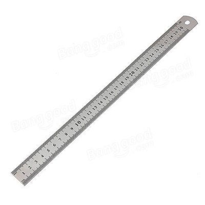 Steel Scale 12 inch