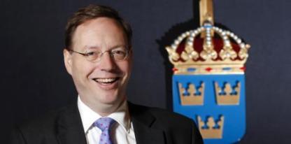 """9. Erik Lagersten med infostabDen civila informationsdirektören i svenska försvarsmakten har varit aktiv i allehanda medier under året, inte minst Twitter. Årets bragder är den nya Försvarsmaktens Blogg, som inte bara är et propagandarör utan tar in flöden från Twitter, externa bloggar och säkert aktiverar medarbetarna. Och så är den skitsnygg! Den andra bragden är så klart det starka stödet till medarbetaren majoren Carl """"wiseman"""" Bergqvist efter att hans identitet avslöjades av det antimilitaristista nätverket Ofog. Foto: Sören Andersson."""