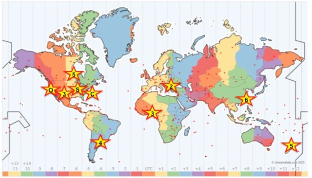 Facilities Management World Map