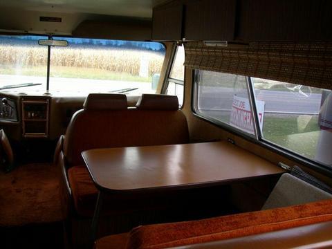 FMC Motorcoach Interior