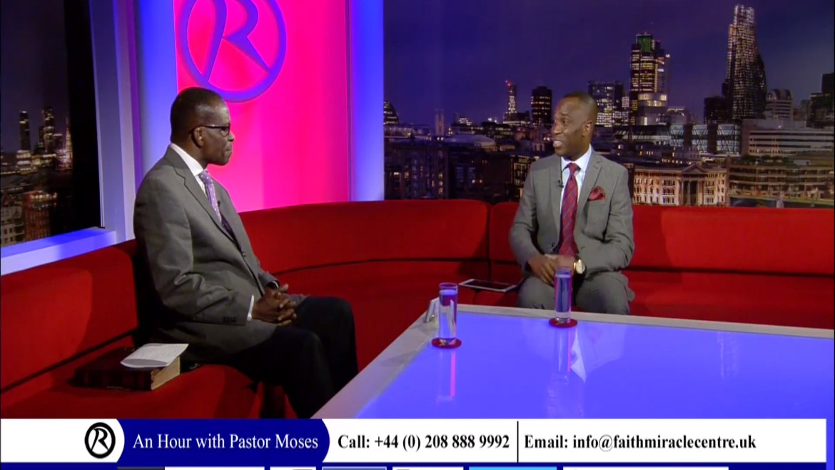 An Hour with Pastor Moses on Revelation TV (January 2018)