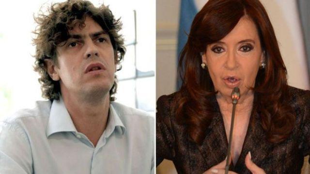 """No me tutee"": fuerte cruce entre Cristina Kirchner y Lousteau"