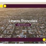Líneas troncales que conectarán el área Metropolitana