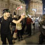 Marcha 17A. Tensión frente a Casa Rosada: manifestantes desafiaron las restricciones