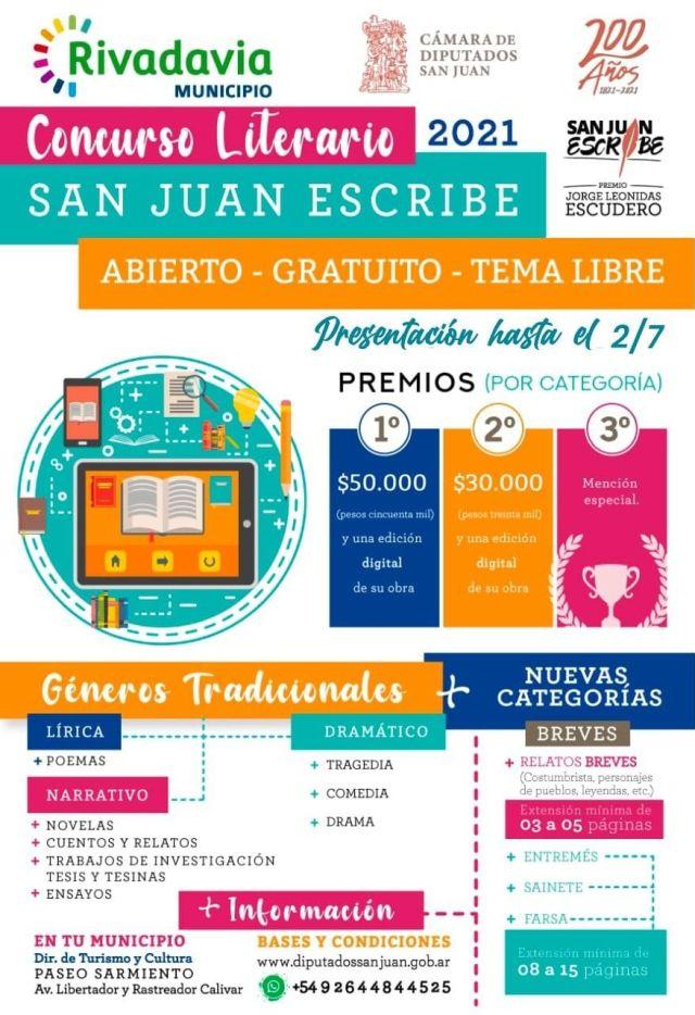 San Juan escribe, concurso literario