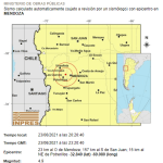 Temblor en Mendoza se sintió en San Juan