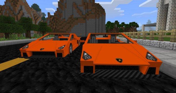Sports Car Mod For Minecraft Pe 105