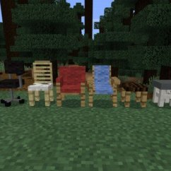 Wooden Step Stool Chair Best Bean Bag Chairs For Dorms A Few Mod Minecraft Pe 1.0.3