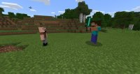 Notch vs Herobrine mod for Minecraft PE 1.1.3