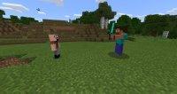 Notch vs Herobrine mod for Minecraft PE 1.1.3