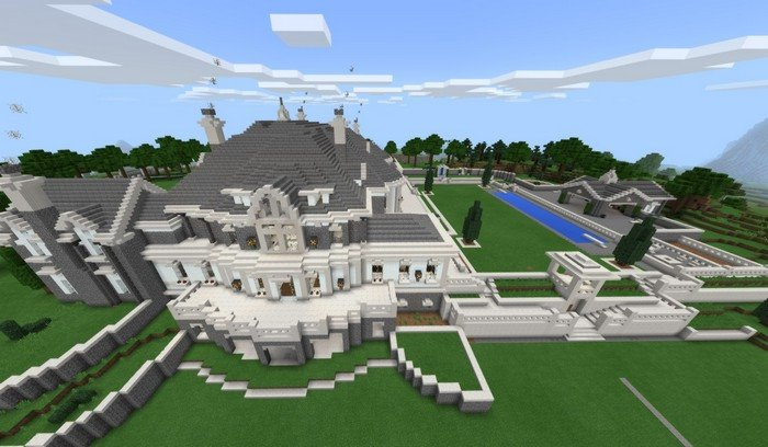 Mansion House Map For Minecraft PE 114