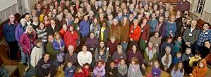 FMC People in Meetinghouse