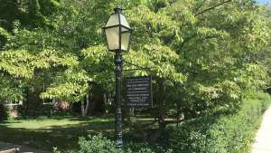 FMC Lamp and Sign