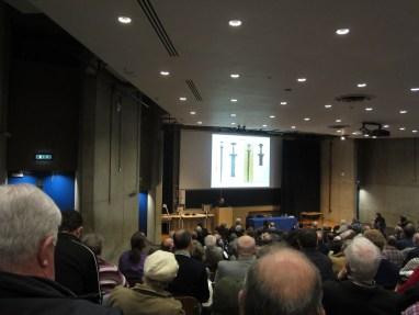 Andrew Halpin addresses the delegates