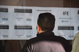 Mañana cobran el IFE los titulares con DNI terminados en 0