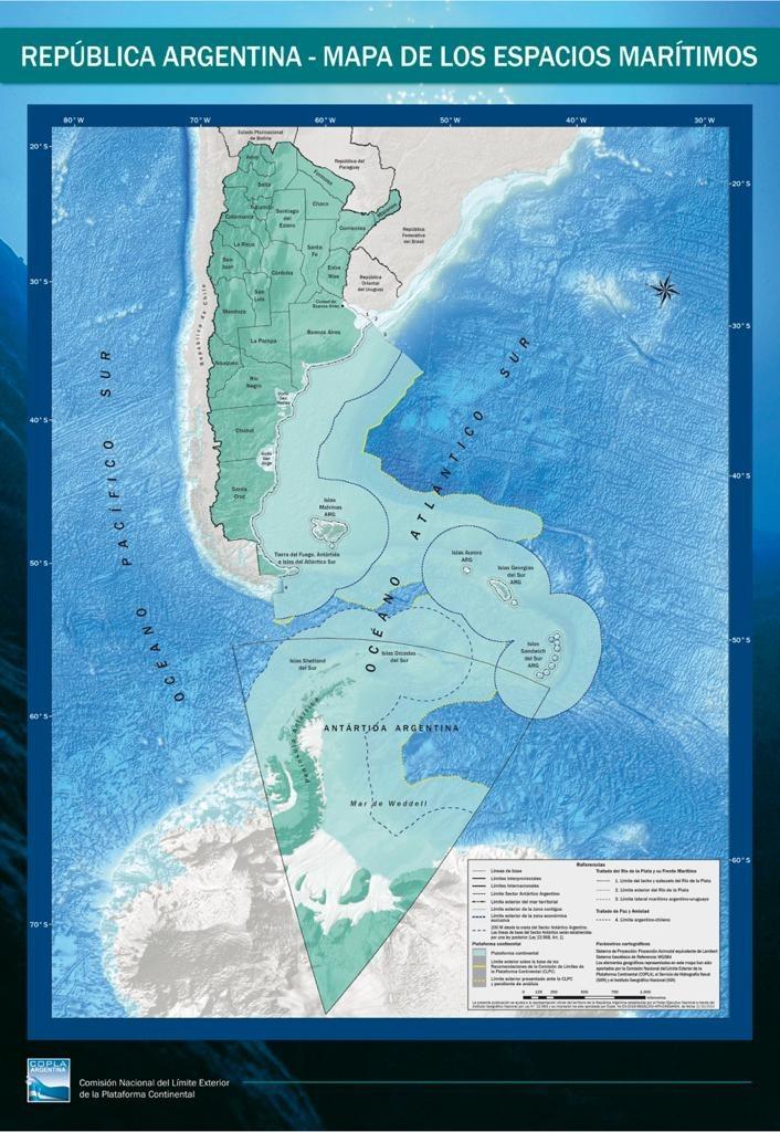 Aprobaron leyes claves para Malvinas