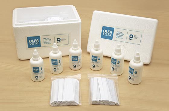Un kit olfativo para reconocer síntomas de coronavirus