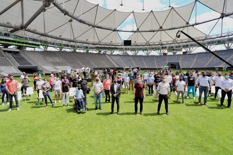 Kicillof presentó un programa de acompañamiento para el retorno seguro del deporte en la Provincia – Del Pueblo