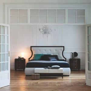 Bedside table vendome Selva elegant bedroom