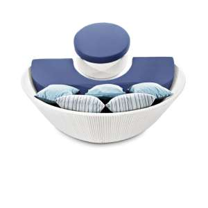 arena sofa semicircular pouf varaschin