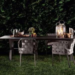 obi armchairs dining table varaschin