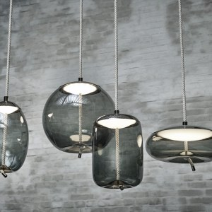 Pendant lamps KNOT Brokis Smokegrey Chrome black PC1019 PC1017 PC1016 PC1018